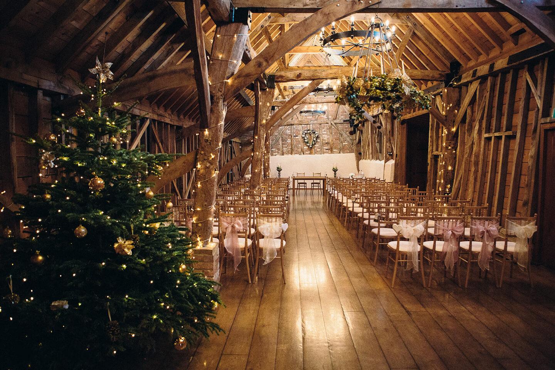Christmas Wedding.Winter Wedding Bassmead Manor Barns