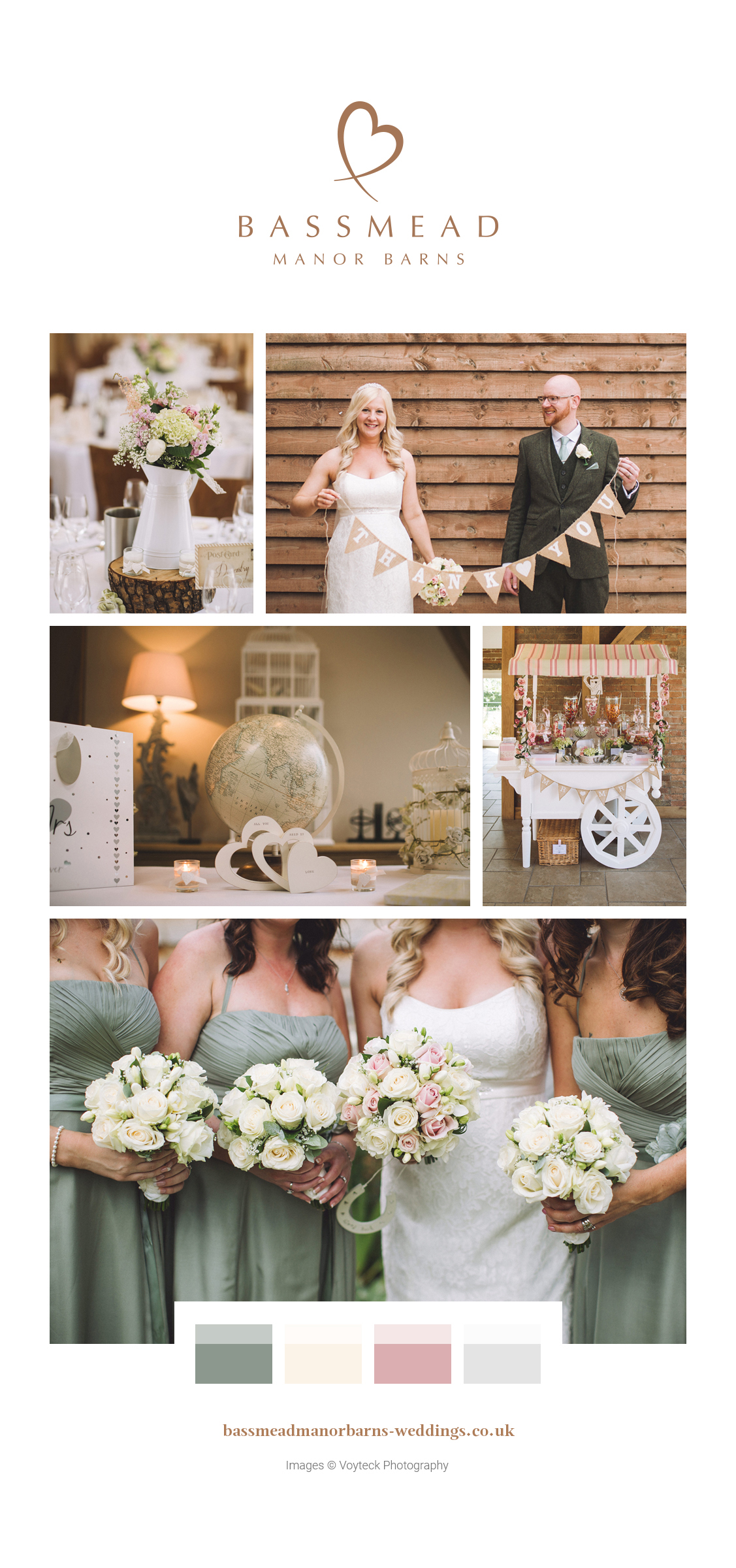 Jenny and Phil's real life wedding at Bassmead Manor Barns
