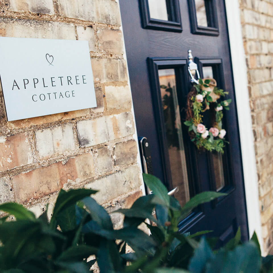 Apple Tree Cottage will be your wedding guests' home-from-homefor the night in a restored farm cottage opposite Bassmead Manor Barns