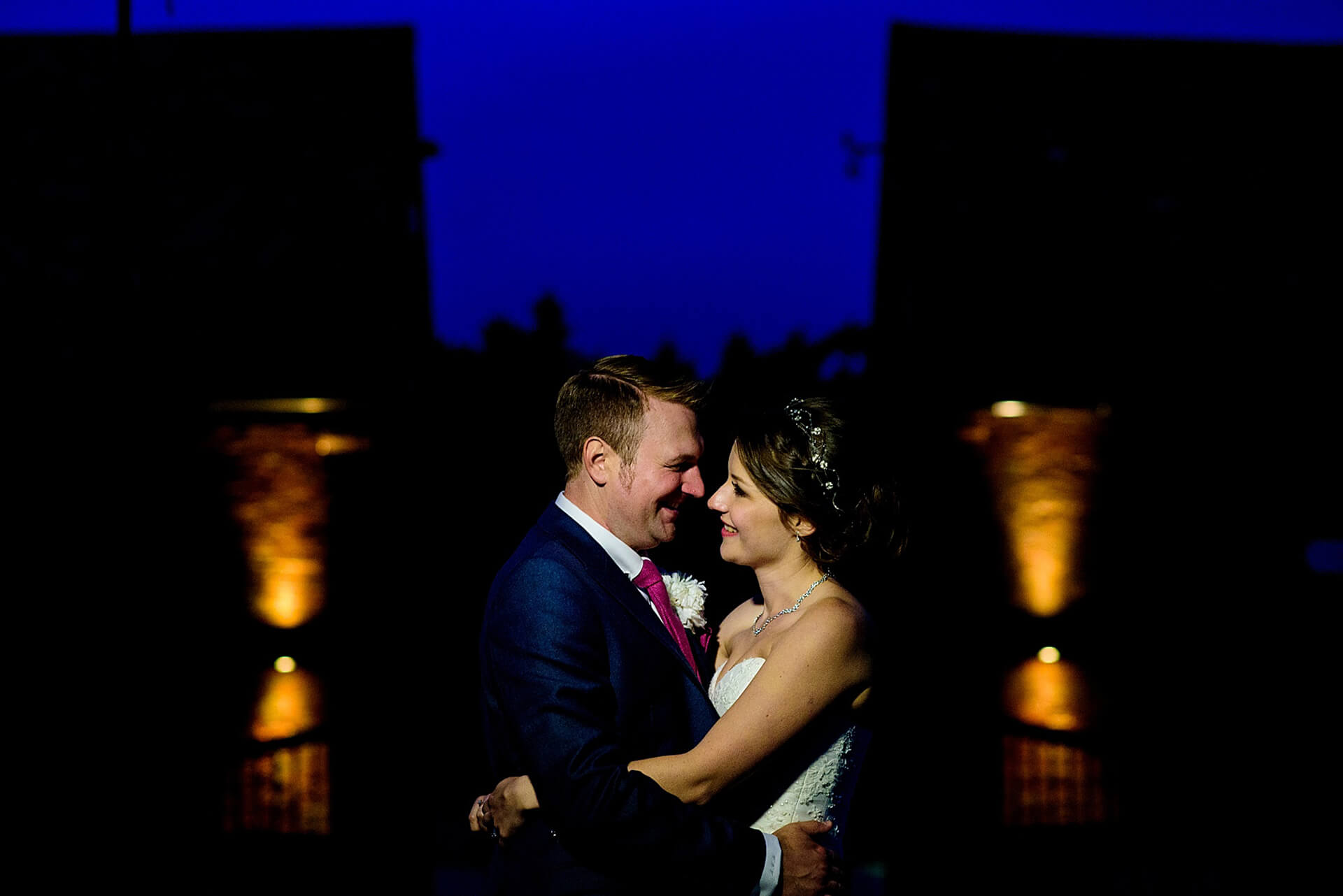 Carly and Stuart knew Bassmead Manor Barns was the perfect wedding venue for their special day