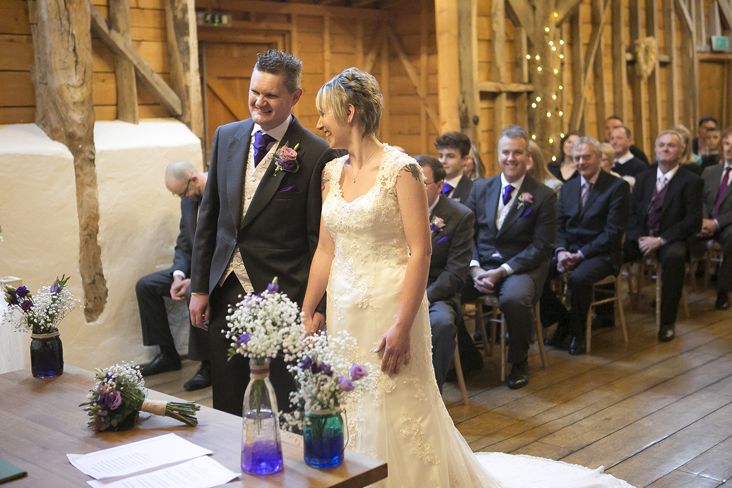 The Rickety Barn is the most amazing wedding ceremony venue in Cambridgeshire