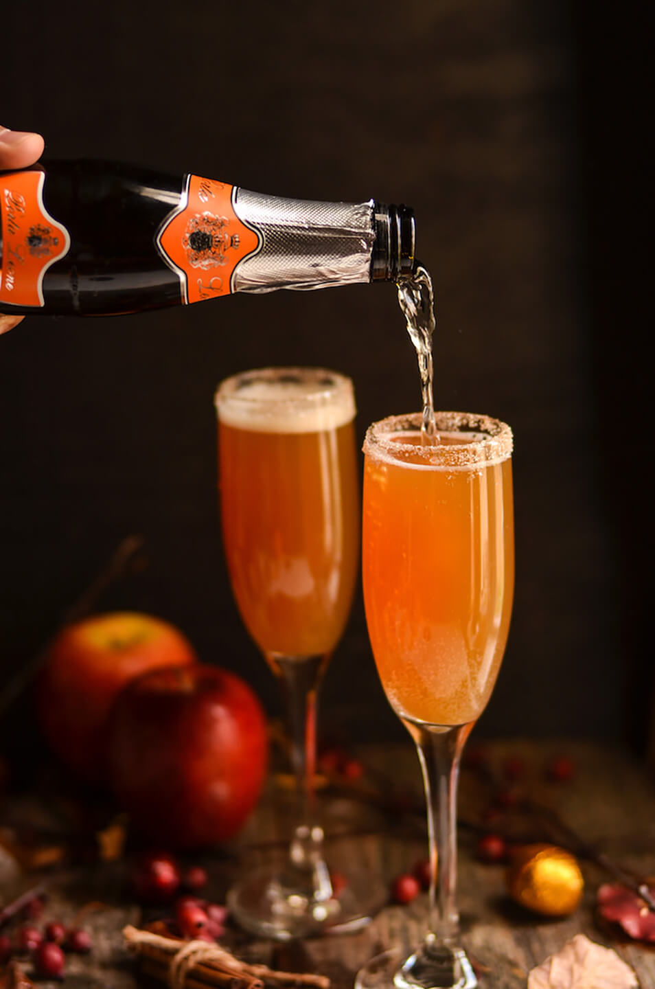 Create a delicious selection of autumn inspired wedding drinks – wedding ideas