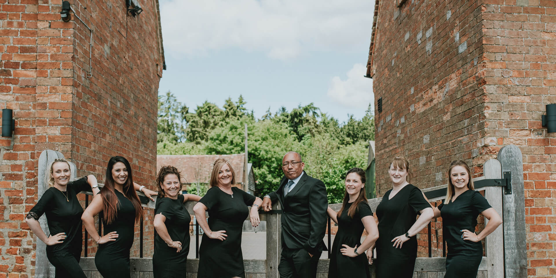 The fantastic events team is here every step of the way to help you plan your perfect wedding day at Bassmead Manor Barns