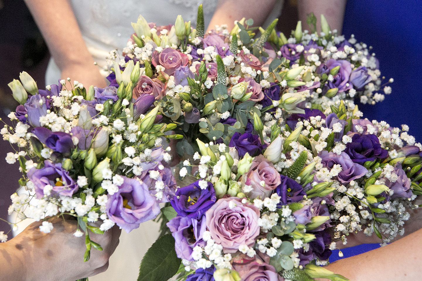 If you're looking for wedding ideas then floral decorations are just the thing for a wedding at Bassmead Manor Barns