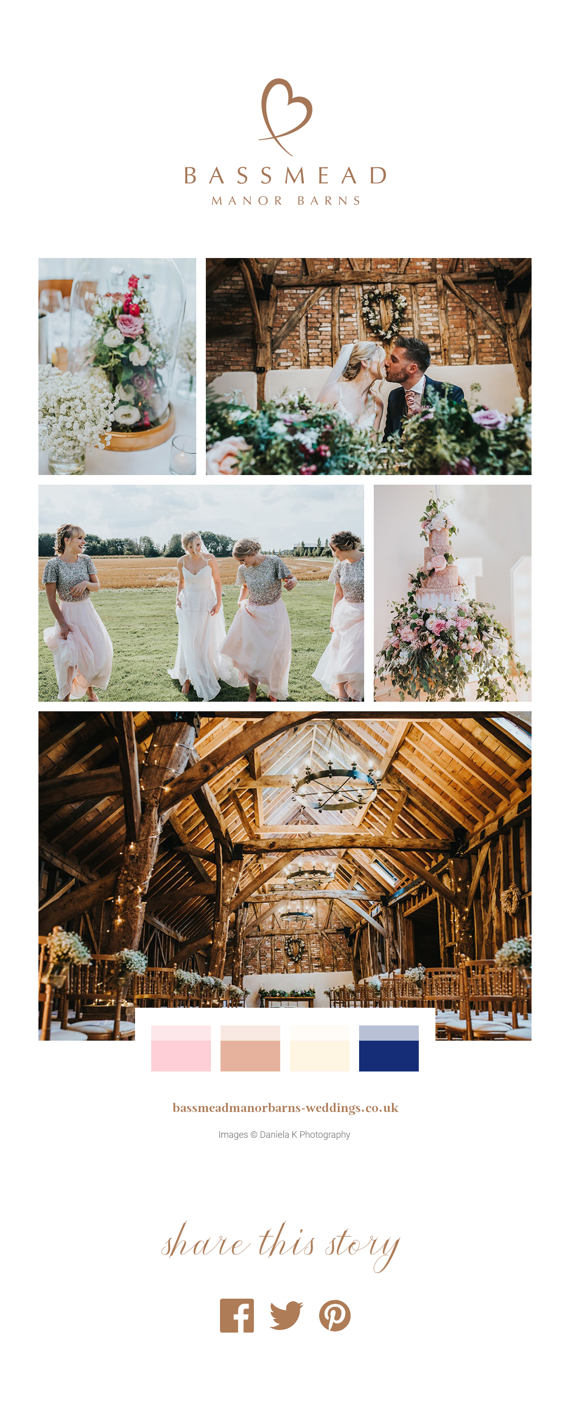 A Stylish September Celebration – Bassmead Manor Barns