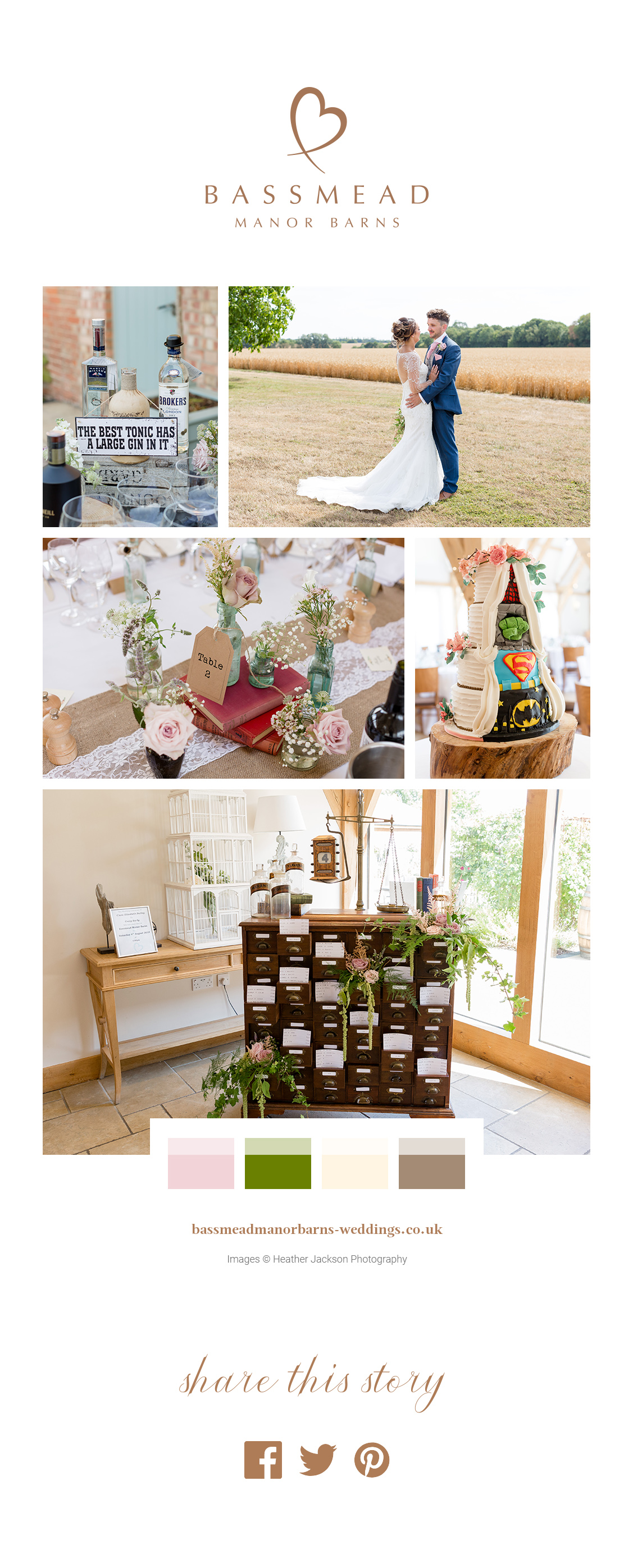 A Picture Perfect Summer Wedding – Bassmead Manor Barns