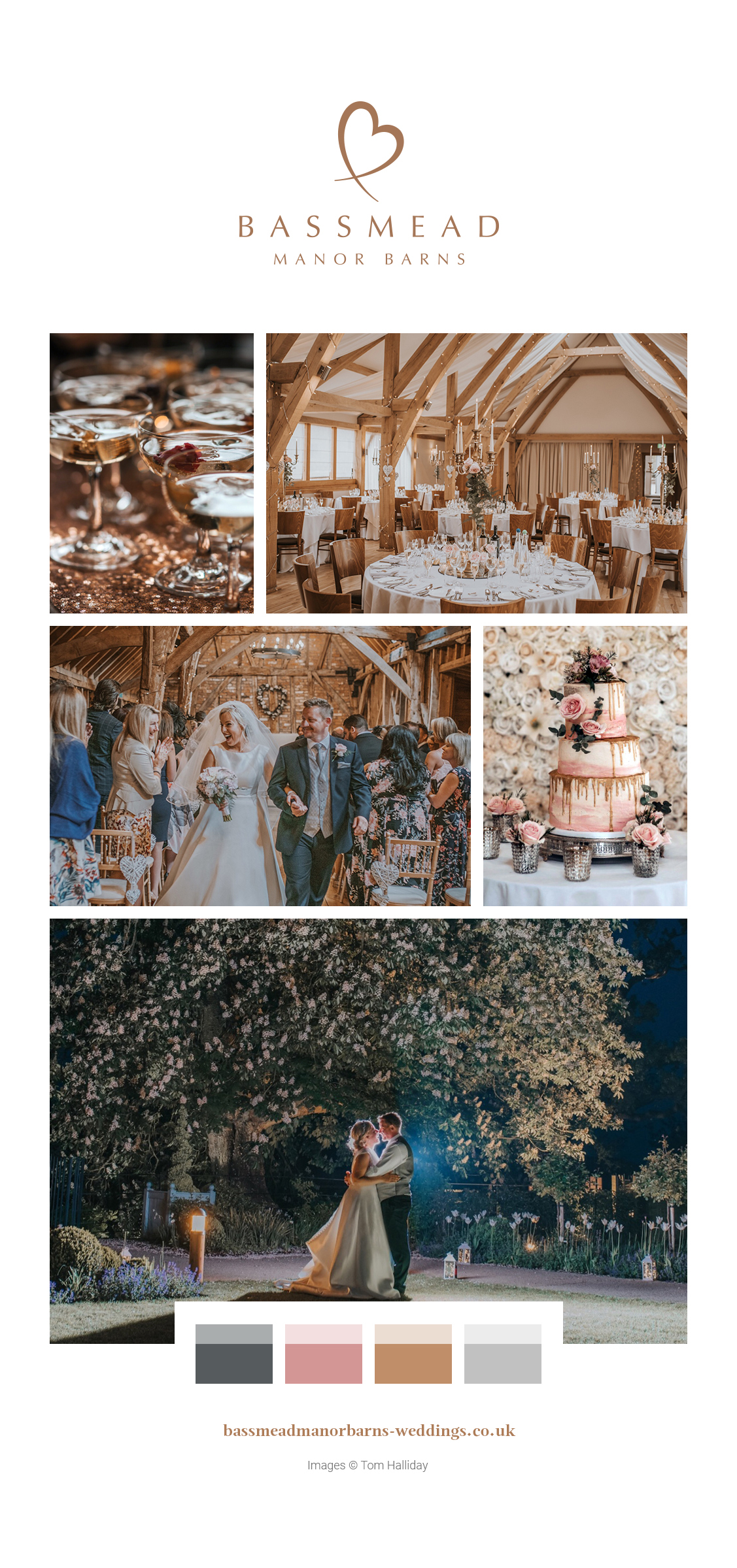 A Glamorous Springtime Celebration – Bassmead Manor Barns