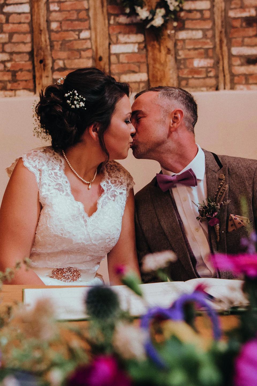 A Rustic Summer Wedding at Bassmead Manor Barns