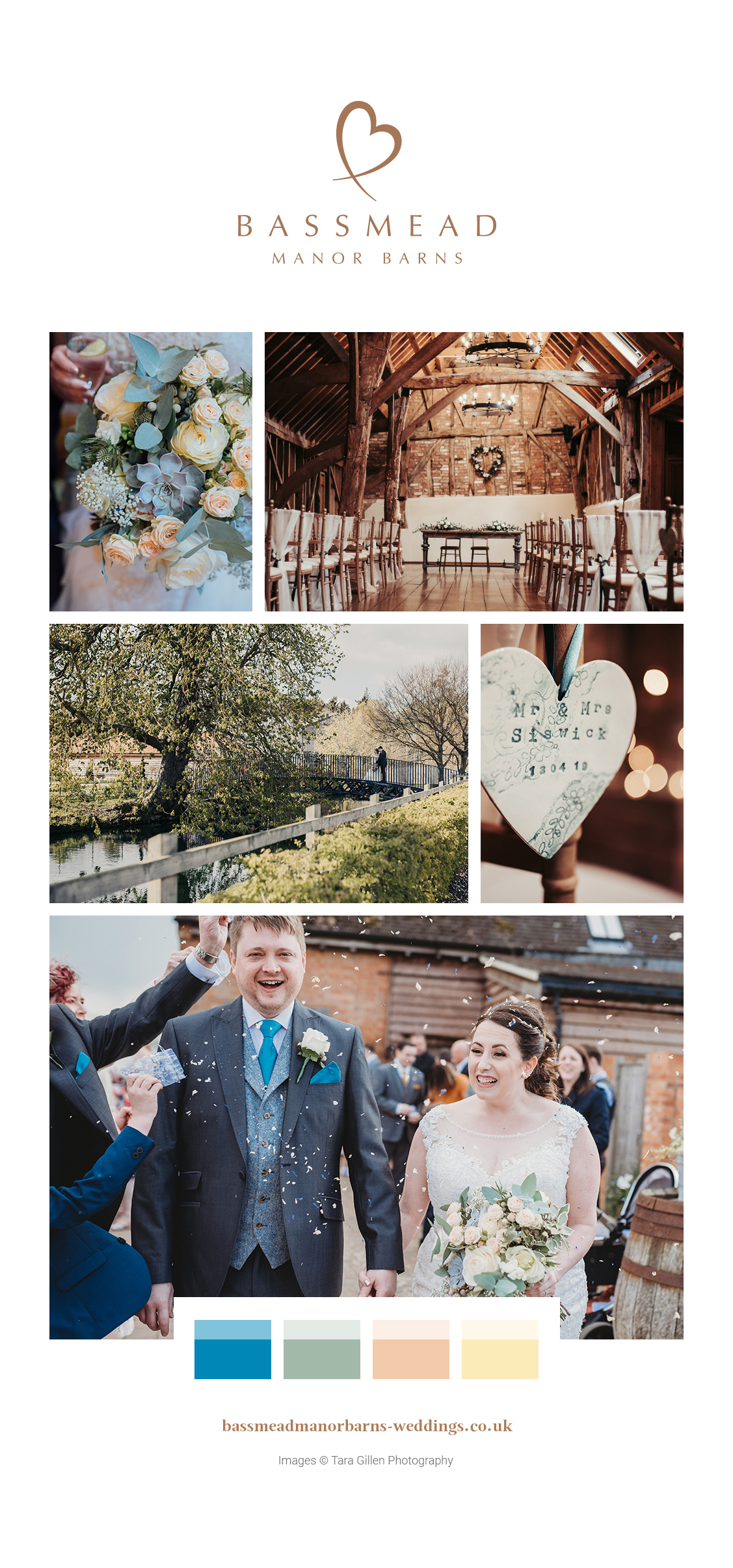 Bassmead Manor Barns - Rachel and Adam